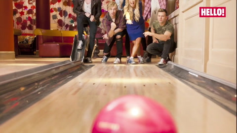 When McBusted met Denise Van Outen for HELLO!\'s exclusive photoshoot