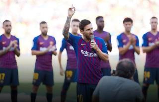 La promesa de Messi: