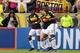 Colombia derrota (2-0) a Ecuador y consigue tres puntos valiosos  (resumen)