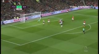 Manchester Unites 4-1 Newcastle (Premier League 2017)