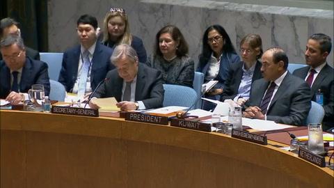 Jefe de la ONU urge parar los combates en Guta Oriental