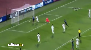 Jorge Álvarez descuenta para Honduras al minuto 50'