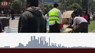 Hondureño cuenta la odisea que vivió tras el sismo en México