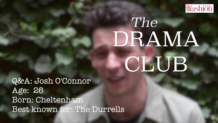 The Durrells star Josh O\'Connor on meeting Meryl Streep and more to #HFM