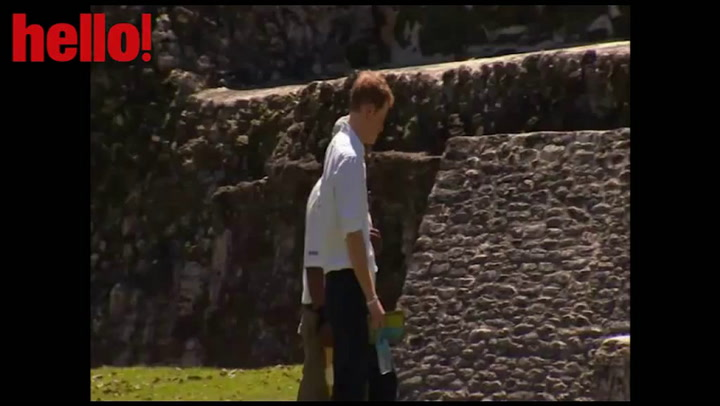 Harry hits the heights in Belize