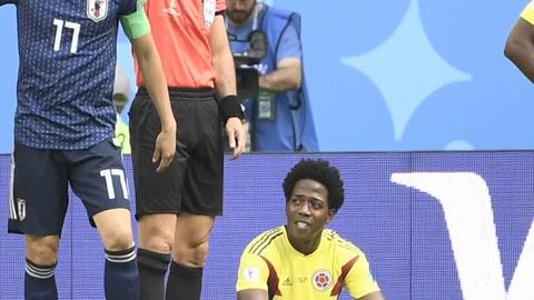Con diez desde el inicio, Colombia cayó 2-1 ante Japón