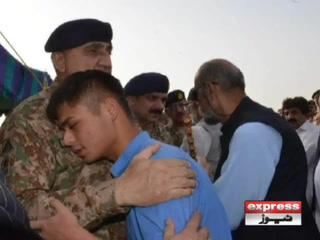 پاکستان نے سراج رئیسانی کی صورت میں بہادر محب وطن کھودیا، آرمی چیف