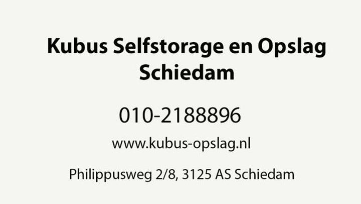 Kubus Selfstorage en Opslag Rotterdam Noord/Schiedam - Video tour