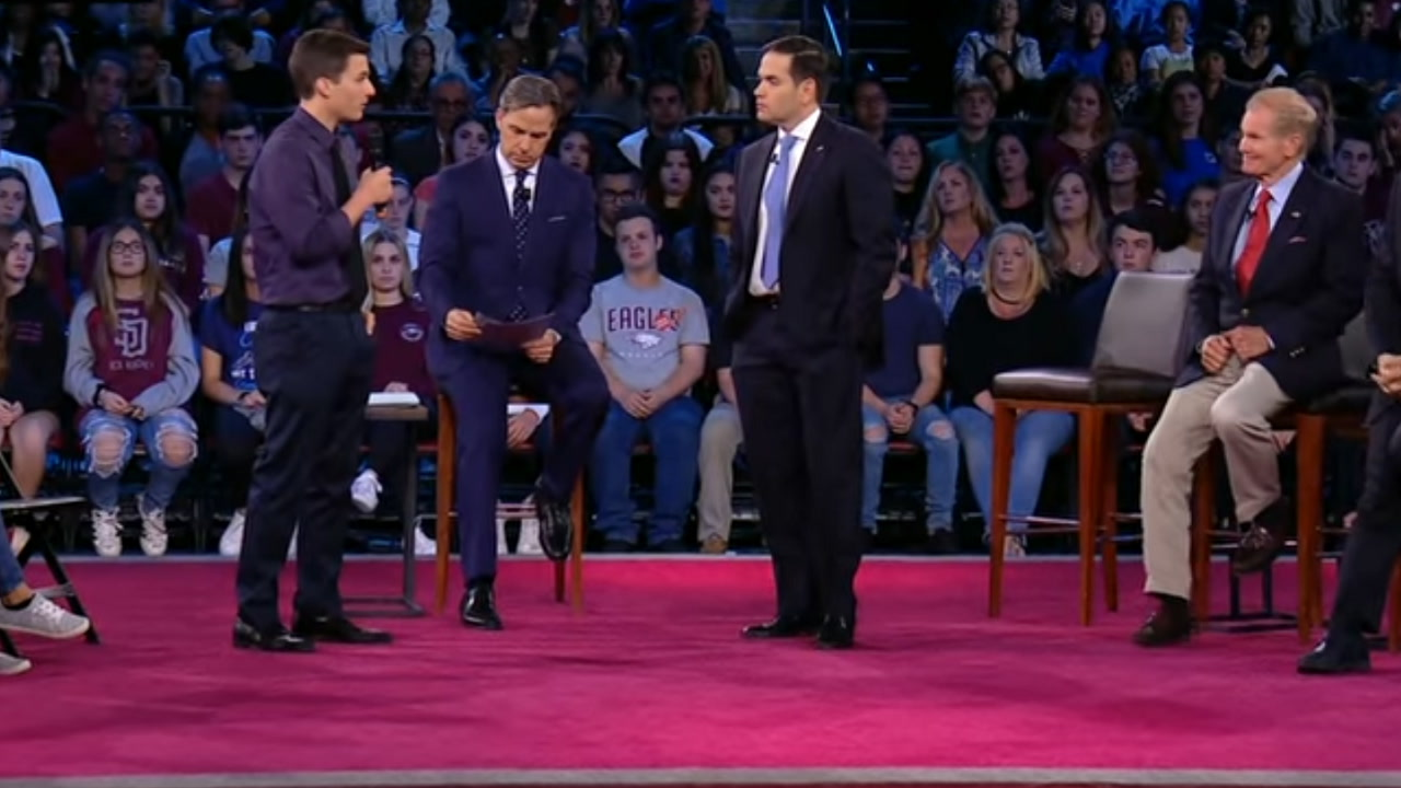 CNN's town hall was nothing short of an NRA ambush with coerced emotional teens