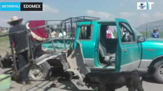 Explosión en Acambay, Edomex deja un muerto y diez heridos