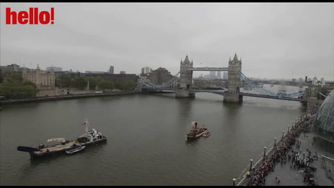 Spectacular end to Jubilee Pageant at Tower Bridge