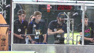 Robots Compete at Minute Maid Park