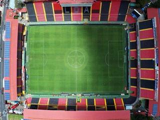 Así de espectacular luce el estadio Morera Soto previo al Alajuelense vs Saprissa
