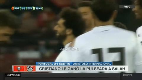 Portugal 2-1 Egipto (Amistoso Internacional)