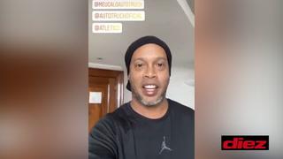 Ronaldinho anuncia que dio positivo a covid-19 y se encuentra en aislamiento en un Belo Horizonte