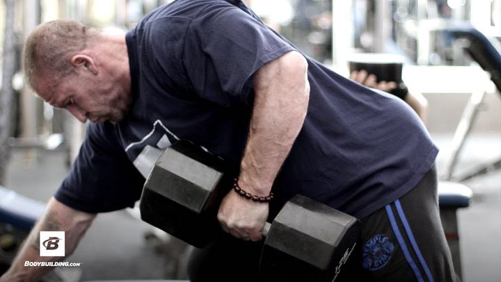 Dorian Yates' Back Workout   Blood & Guts Training Program