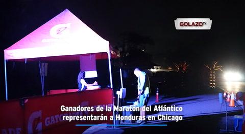 Ganadores de la Maratón del Atlántico representarán a Honduras en Chicago