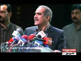 نوازشریف کو جیل میں ڈالنے کی تیاریاں کی جارہی ہیں، سعدرفیق