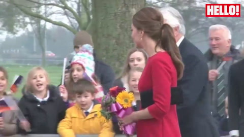 Kate launches an appeal for East Anglia Children\'s Hospices (EACH)