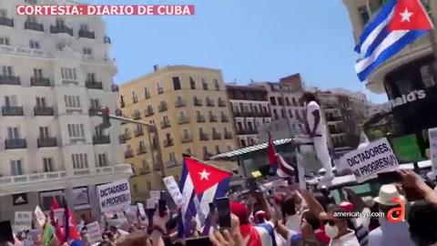 Desde Washington hasta Madrid, manifestantes piden el fin de la Dictadura