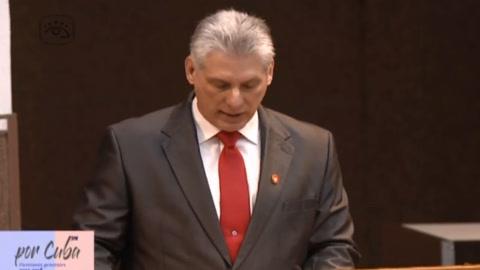 Miguel Díaz-Canel promete dar continuidad a revolución en Cuba