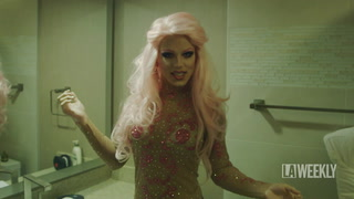 Watch Derrick Barry Transform for RuPaul's DragCon
