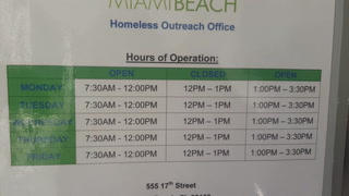 Homeless Outreach Office Locks Doors During Business Hours