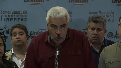 Oposición venezolana descarta diálogo tras su derrota electoral