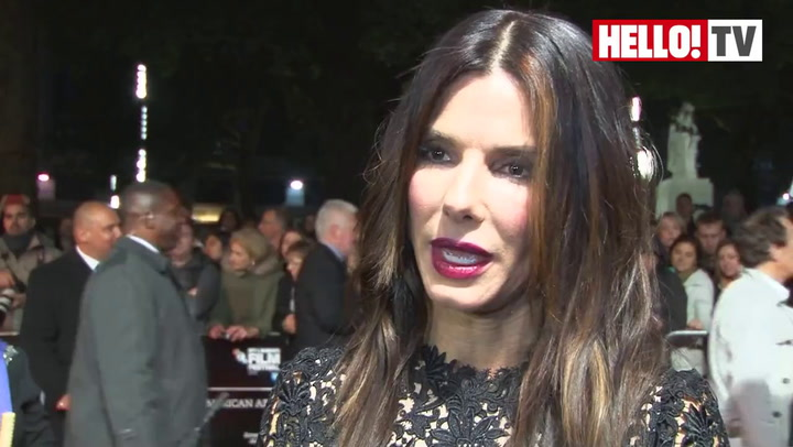Sandra Bullock talks to HELLO! about working with George Clooney