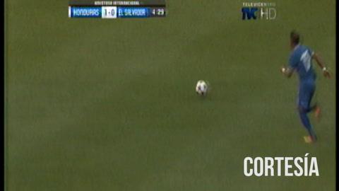 Jairo Puerto abre el marcador en el partido amistoso ante El Salvador 1-0