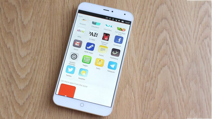 Meizu MX4 with Ubuntu