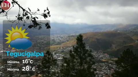 Conozca el estado del tiempo para este viernes en Honduras