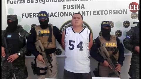 Cae supuesto miembro de la mara 18 en la capital hondureña