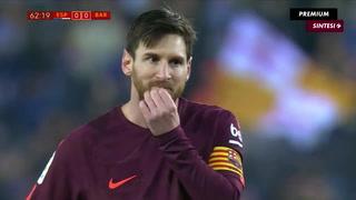 Barça cae ante el Espanyol por los cuartos de final de la Copa del Rey