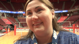 Plains Vs. Galena 2A State Volleyball Final Denise Dufour Sound