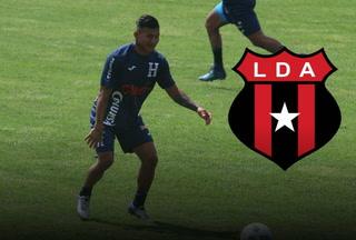 Iván López anuncia que tiene oferta de la Liga Deportiva Alajuelense