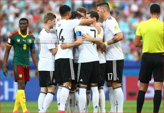 ¡Gol de Alemania! Dermibay anota el 1-0 contra Camerún