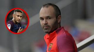 ¿Neymar al Real Madrid?: La respuesta inesperada de Iniesta
