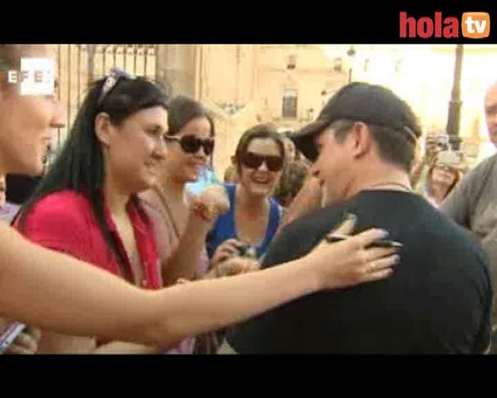 Alejandro Sanz, solidario con los afectados por el terremoto de Lorca
