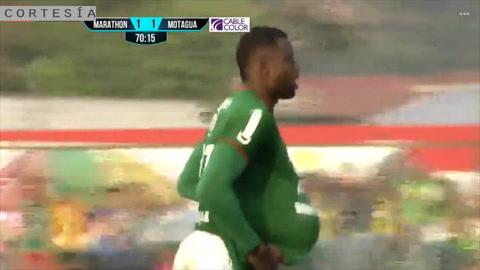 Justin Arboleda anota de penal el empate para Marathón