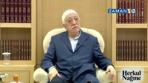 Fethullah Gülen Hocaefendi ''Sabır, İştiyak ve Seçim'' konularına değindi