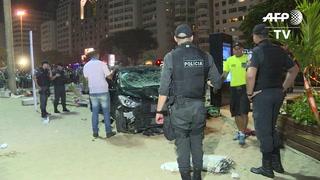 Auto deja bebé muerto y 17 heridos tras accidente en Copacabana