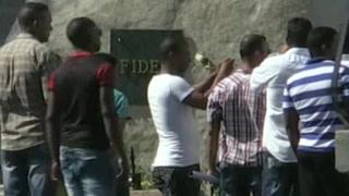 Fidel Castro descansa en cementerio de Santiago de Cuba