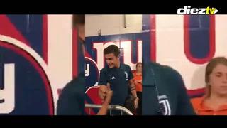 Jugadores de la Juventus mandan saludos hasta Honduras