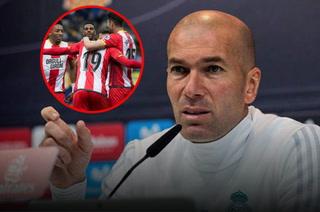 Zidane: ''El Girona está haciendo una muy buena temporada, no hay equipos pequeños''