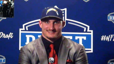 Joey Bosa on being drafted by the Chargers & who he is on & off the field