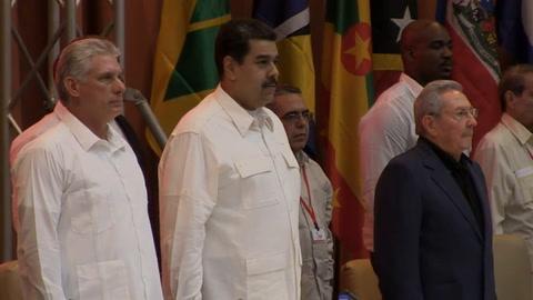 Maduro recibe en Cuba