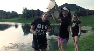 Fishing Frenzy: SHG Softball Girls