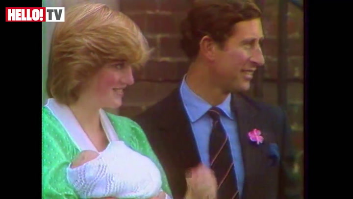 Relive the moment Prince Charles and Princess Diana left the hospital with Prince William