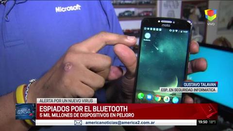 Espiados por el Bluetooth: cinco mil millones de dispositivos en peligro.